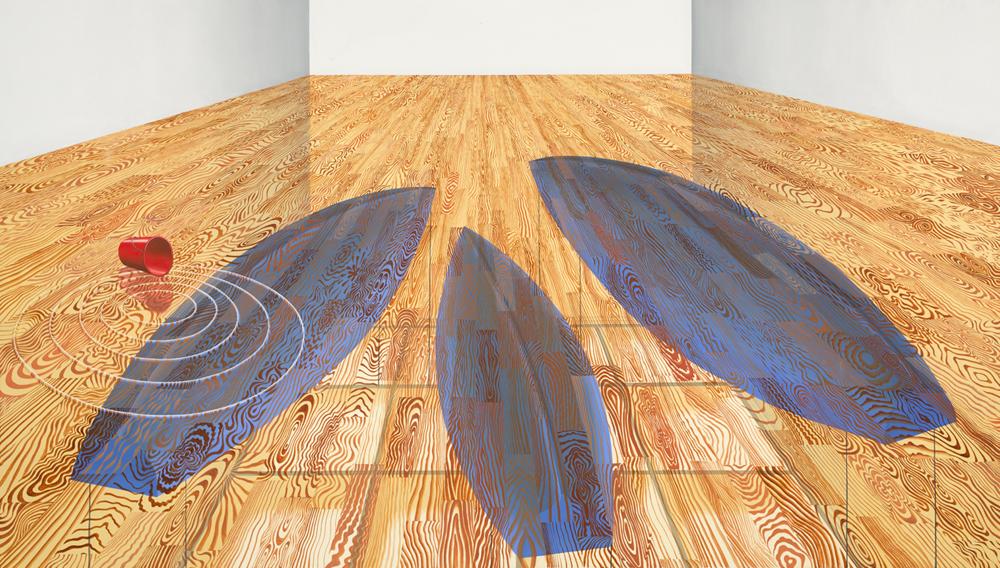 solo exhibition Thomas Huber